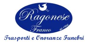 Il marchio delle Onoranze Funebri Ragonese, storica agenzia funebre di Catania